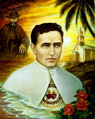 NZ Grand Priory of the Order of St. Lazarus - Father Damien of Molokai